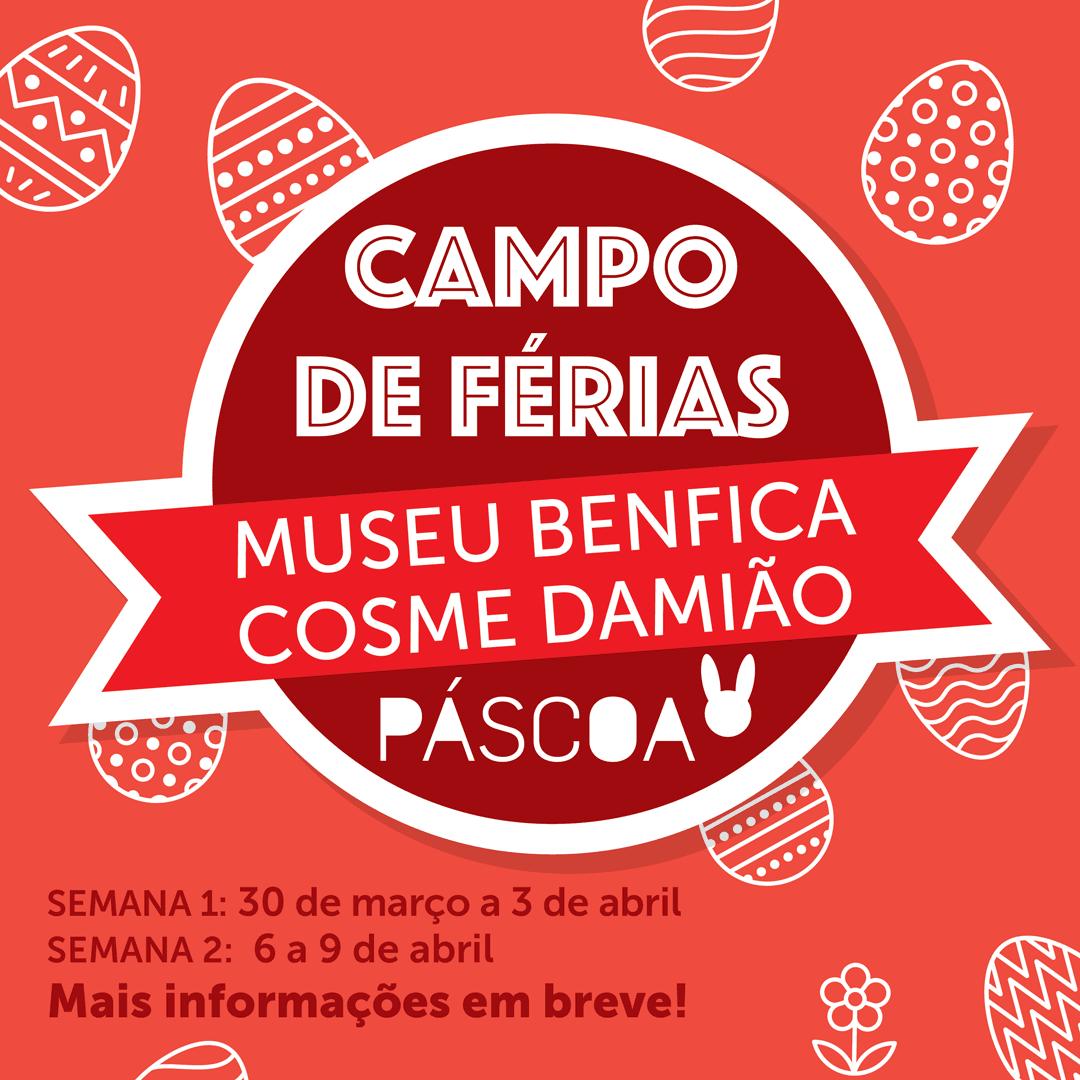 Campo de Férias do Museu Benfica – Páscoa 2020