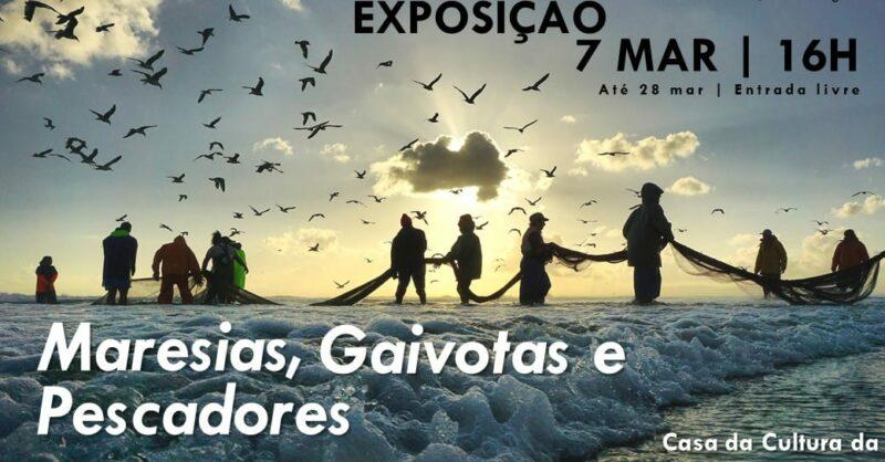 Exposição Fotografia – Maresias, gaivotas e pescadores de Jaime Silva