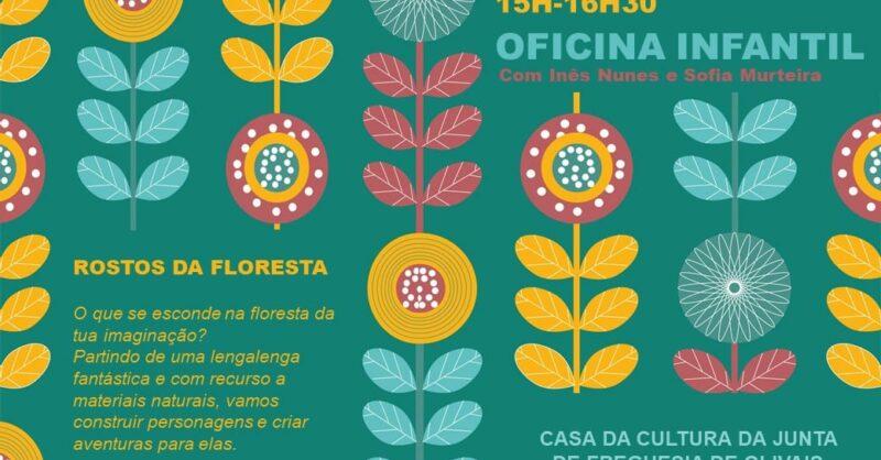Oficina Infantil – Rostos da Floresta