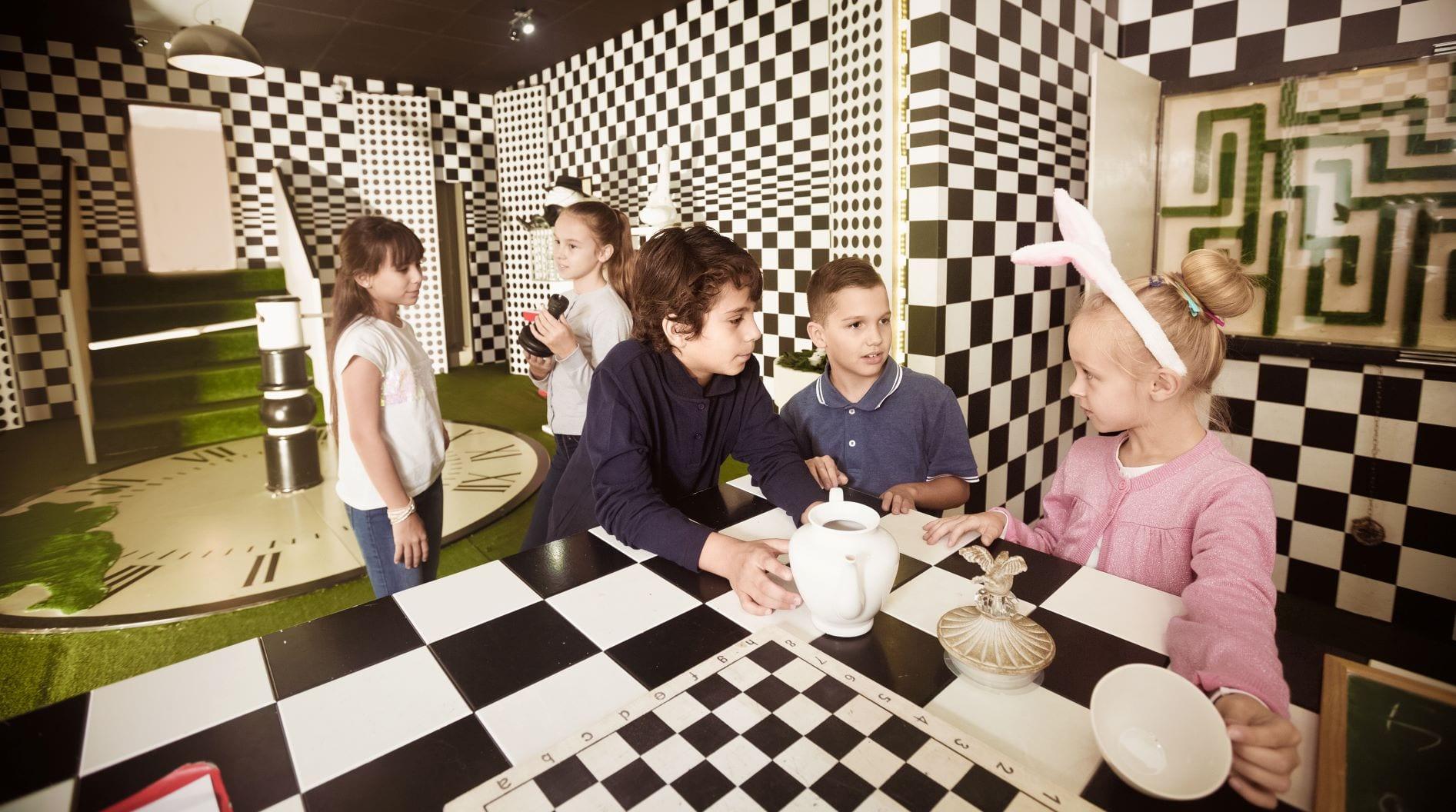 escape room para crianças