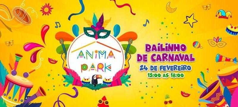 Bailinho de Carnaval é no Anima Park