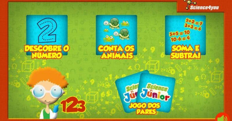 Aplicação de jogos matemáticos gratuita: Math4you