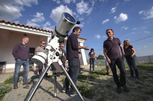 observação solar