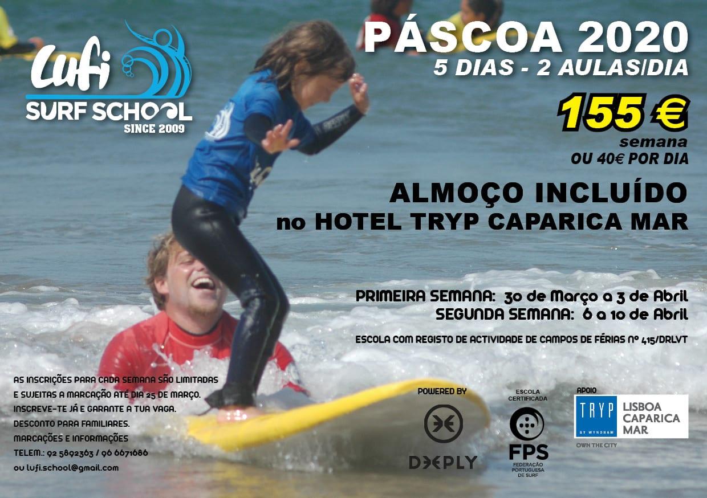 ATL – Campo de Férias – Páscoa Lufi Surf School 2020