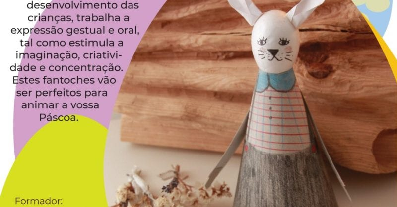 Workshop pais e filhos – Coelho de Páscoa