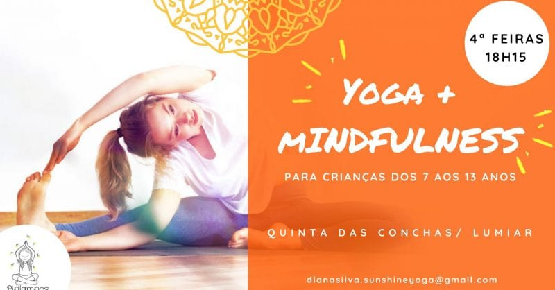 Aulas de Yoga e Mindfulness para Crianças dos 7 aos 14 anos