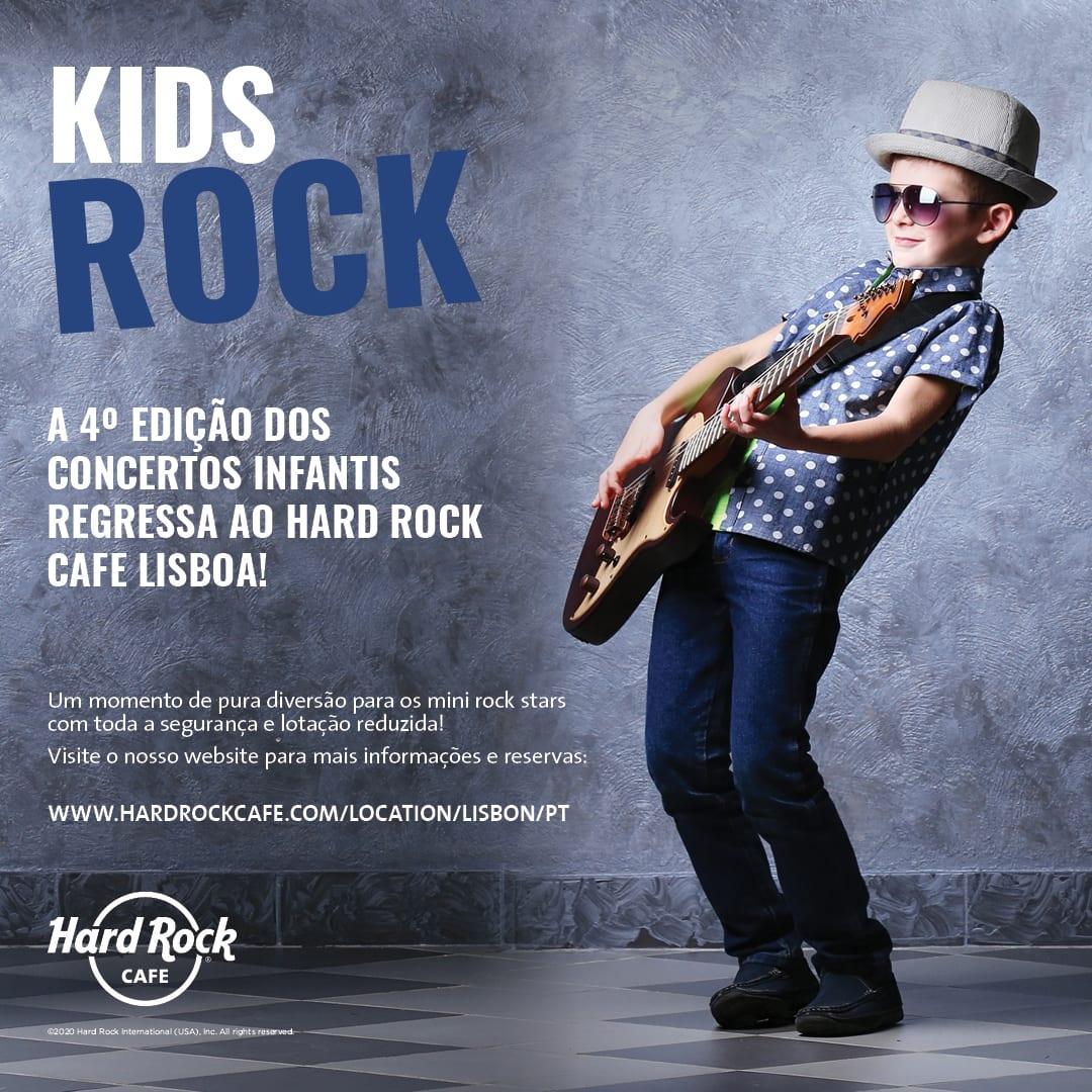 Concertos Infantis Hard Rock Cafe Lisboa