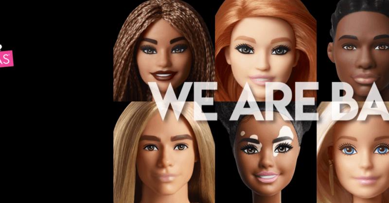 Barbie Fashionistas: uma ode à diversidade!