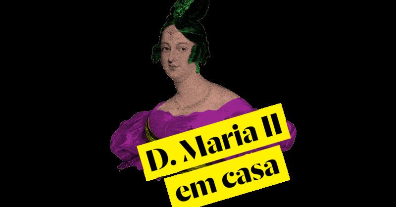 Salinha Online: Histórias para os mais pequenos com o D. Maria II