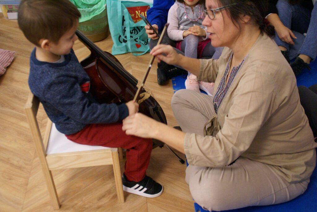 jardim de infância do Conservatório de Sintra - música