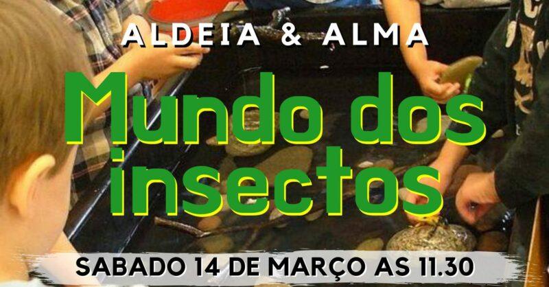 """Viagem Sensorial  – """"Mundo dos insectos"""""""