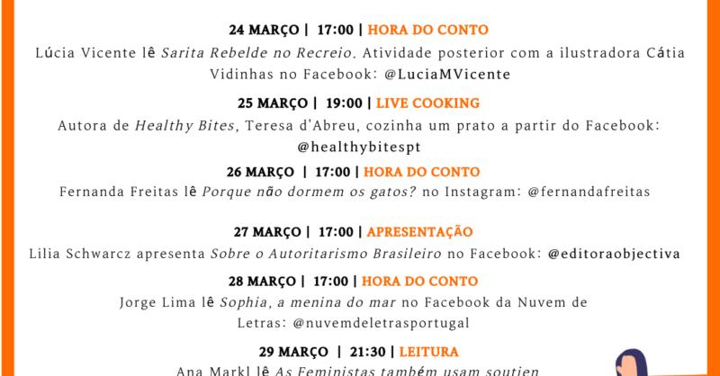 #FicoemCasaaLer: Leitura Online
