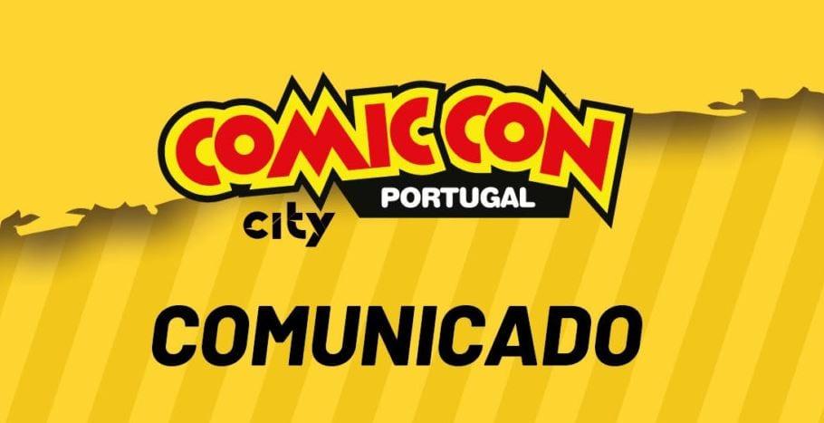 comic con comunicado portugal