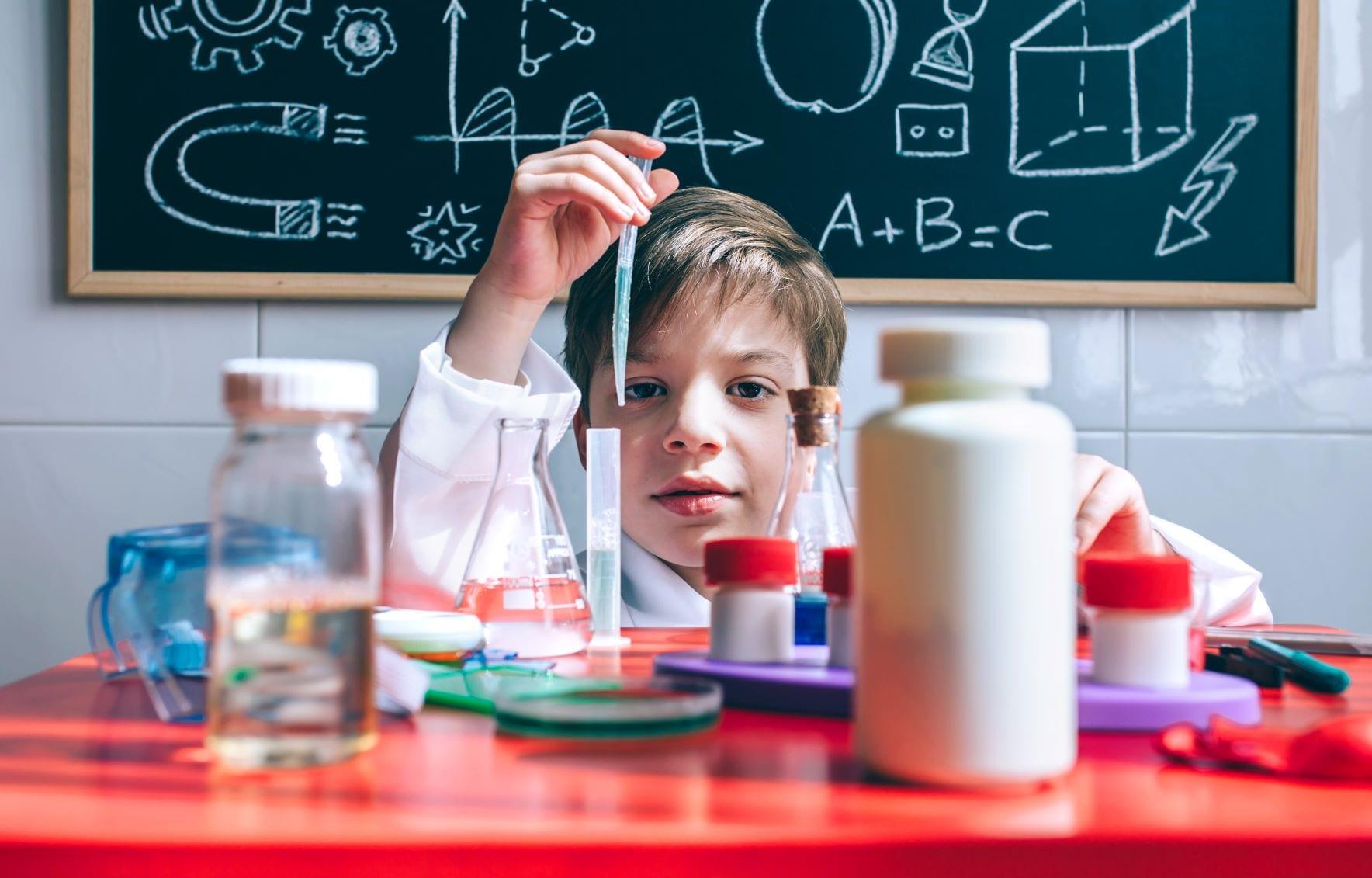 experiências científicas com crianças