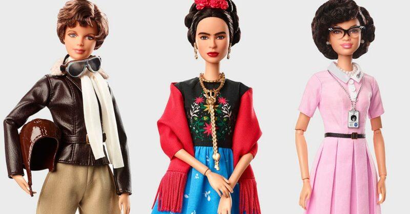 Inspiring Women: a Barbie presta homenagem a mulheres inspiradoras!