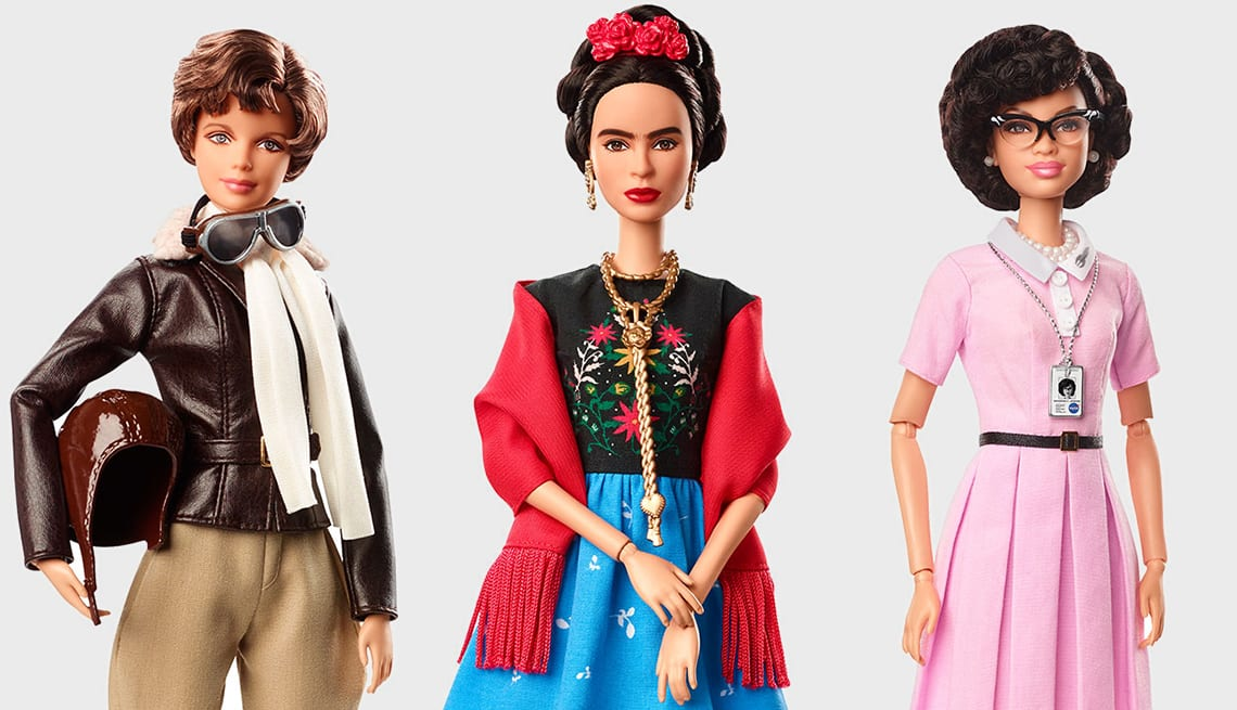 Barbie mulheres inspiradoras