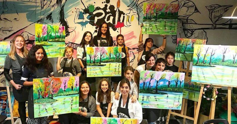 Workshop Pintura em Família