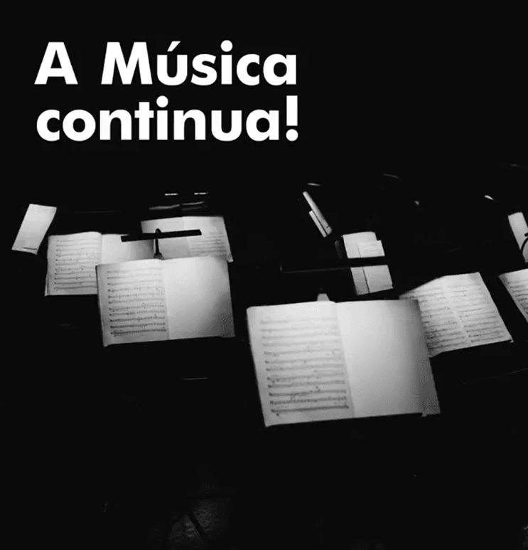 A Musica continua