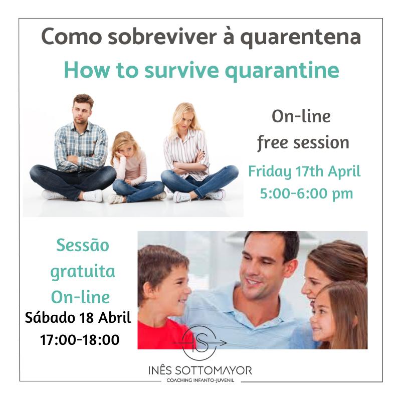 Como sobreviver à quarentena – How to survive to quarantine