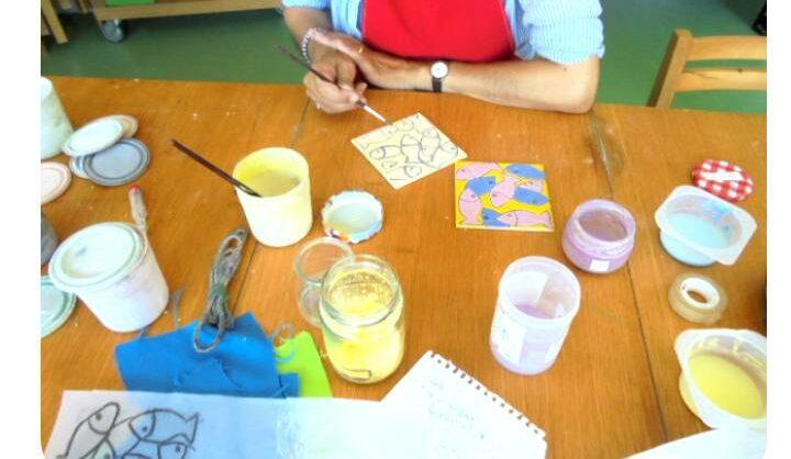 Técnicas de pintura de azulejo