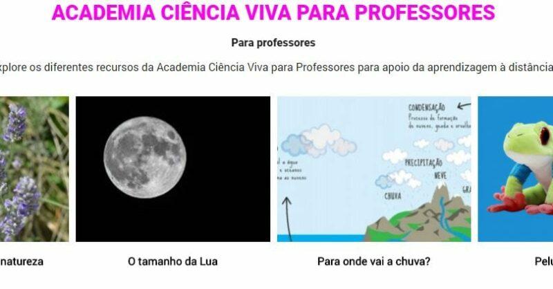 ciência viva para professores