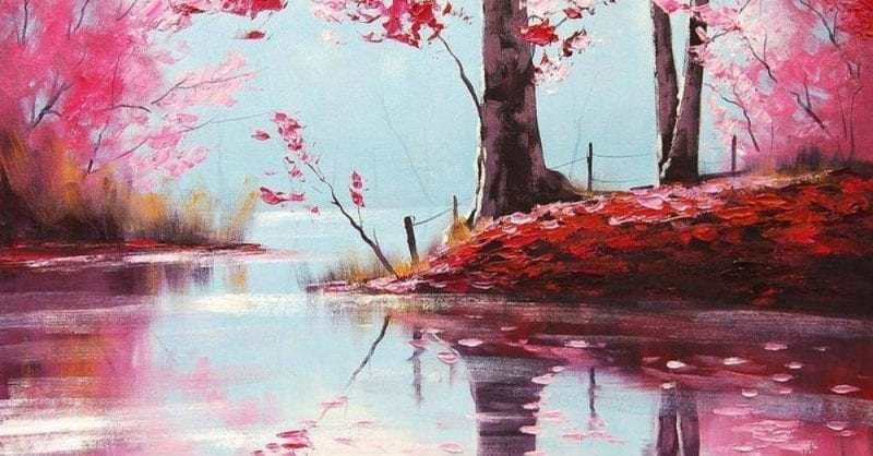 Workshop Online de Pintura em Família: Primavera em Flor | Gercken
