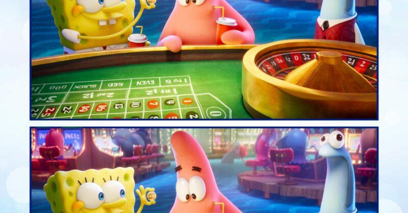 Atividades Digitais de SpongeBob – Esponja em Missão