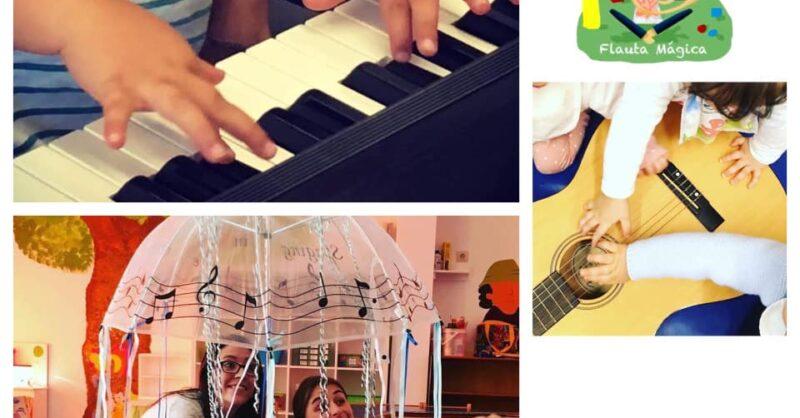 Aulas de Música Online com a Flauta Mágica (0-6anos)