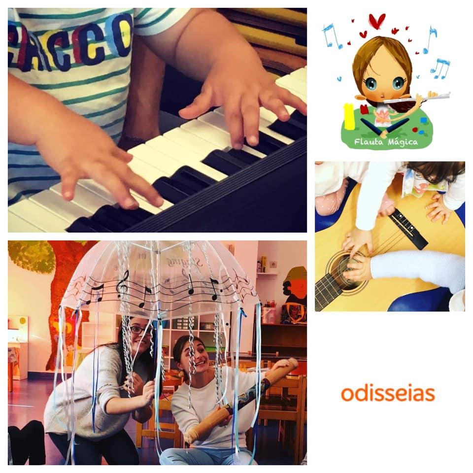 Aulas de Música com a Flauta Mágica (0-6anos)