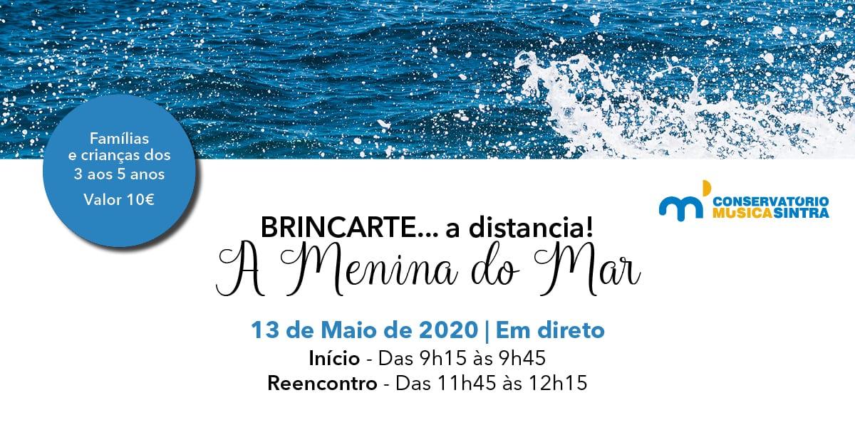 Banner BrincArte A Menina do Mar