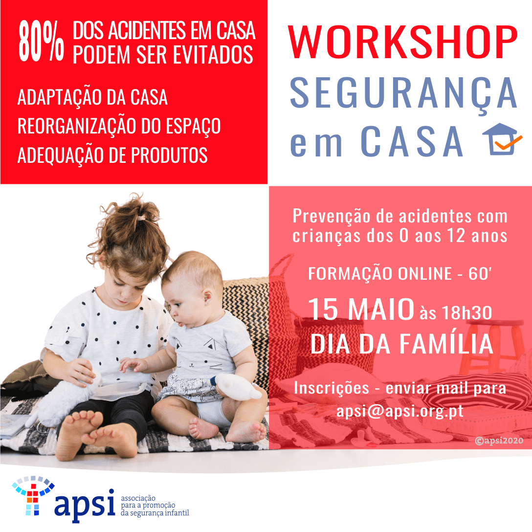 """Workshop Online """"Segurança em Casa"""""""