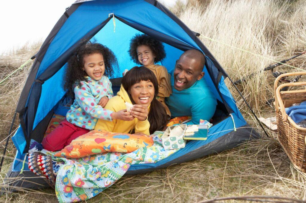 acampar em portugal