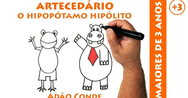 ARTECEDÁRIO: aprender a desenhar tudo com 6 linhas!