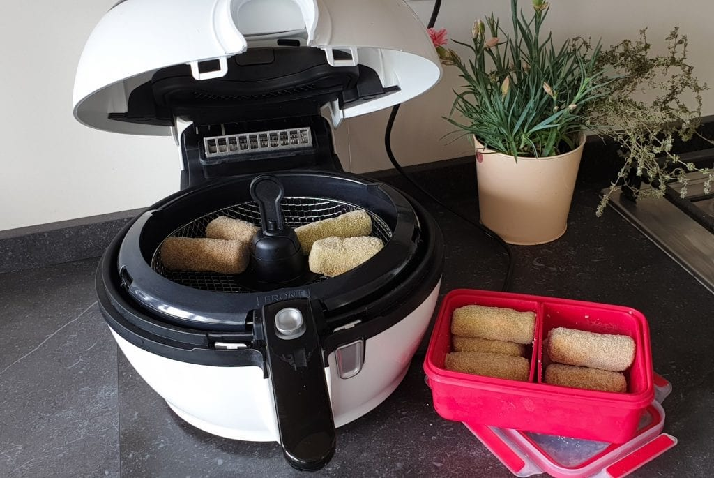 croquetes carne - fritar no airfryer