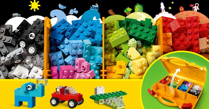 Passatempo Brincar em família com Lego