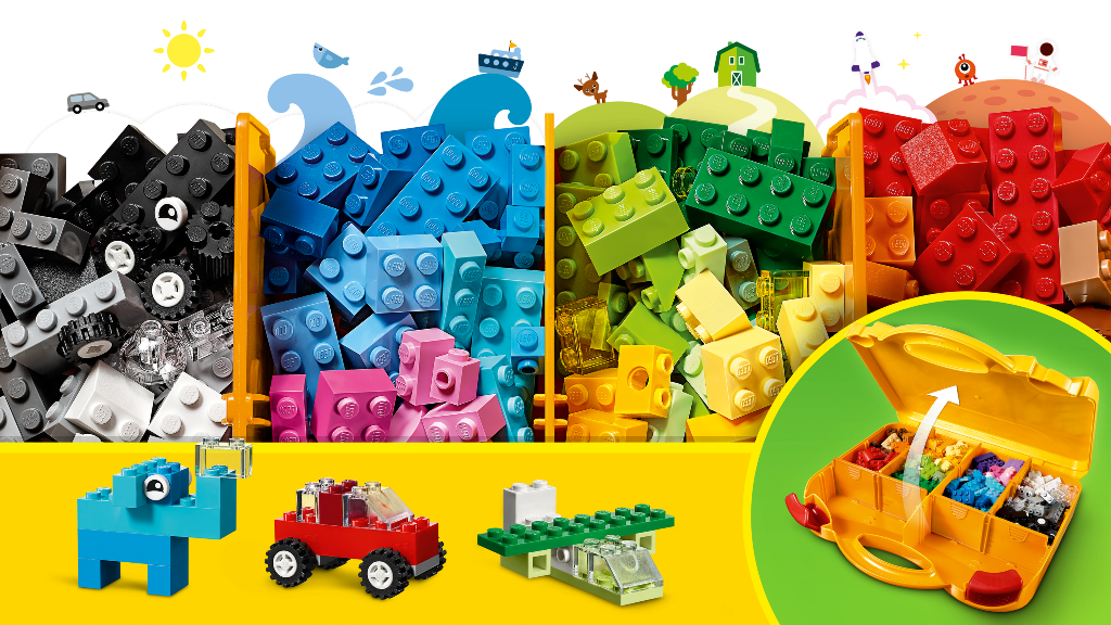 Lego Mala criativa