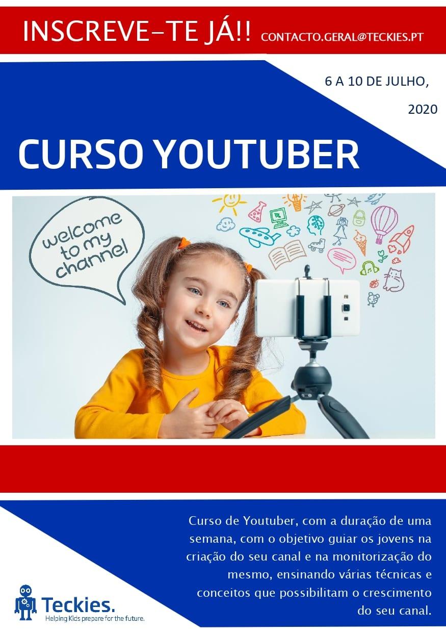 Curso Youtuber – 1ª Edição (Online)