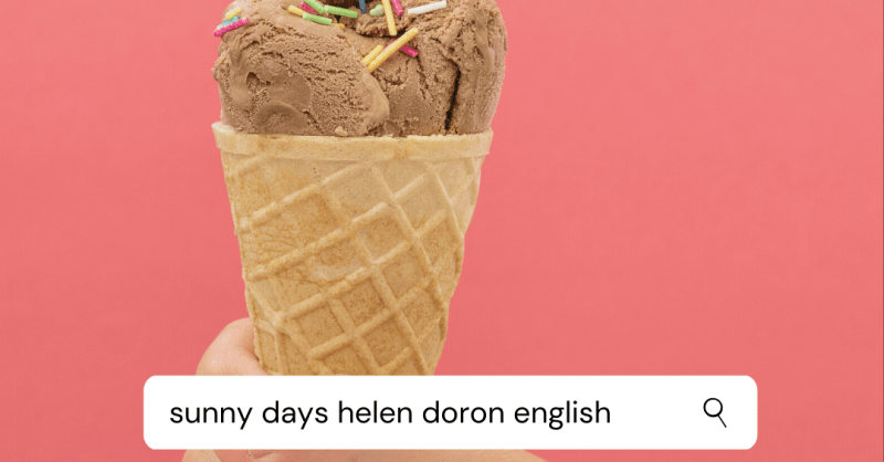 Férias de Verão em Inglês