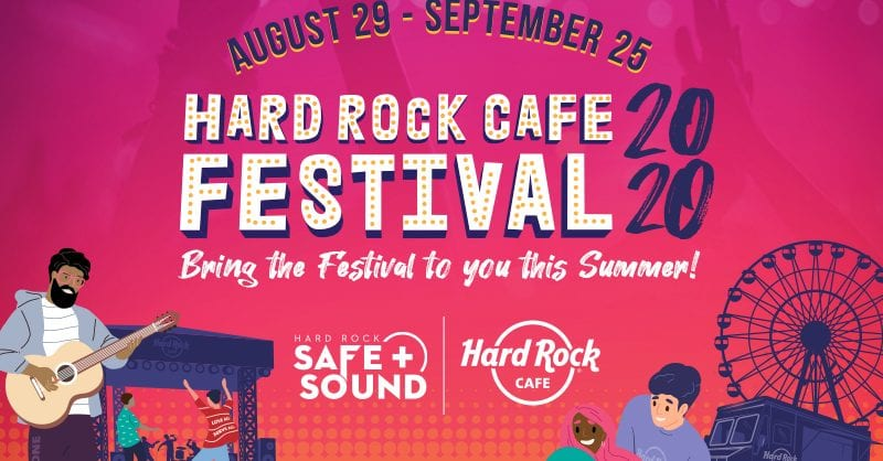 Setembro vai ser um Festival noHard Rock Cafe Lisboa!
