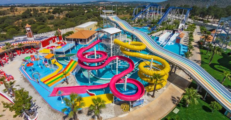 Parque aquático - Mariparque