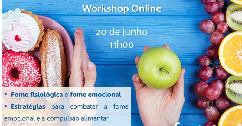 Workshop Como Gerir a Fome Emocional