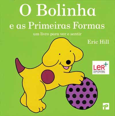 livros para bebés bolinha e as primeiras formas