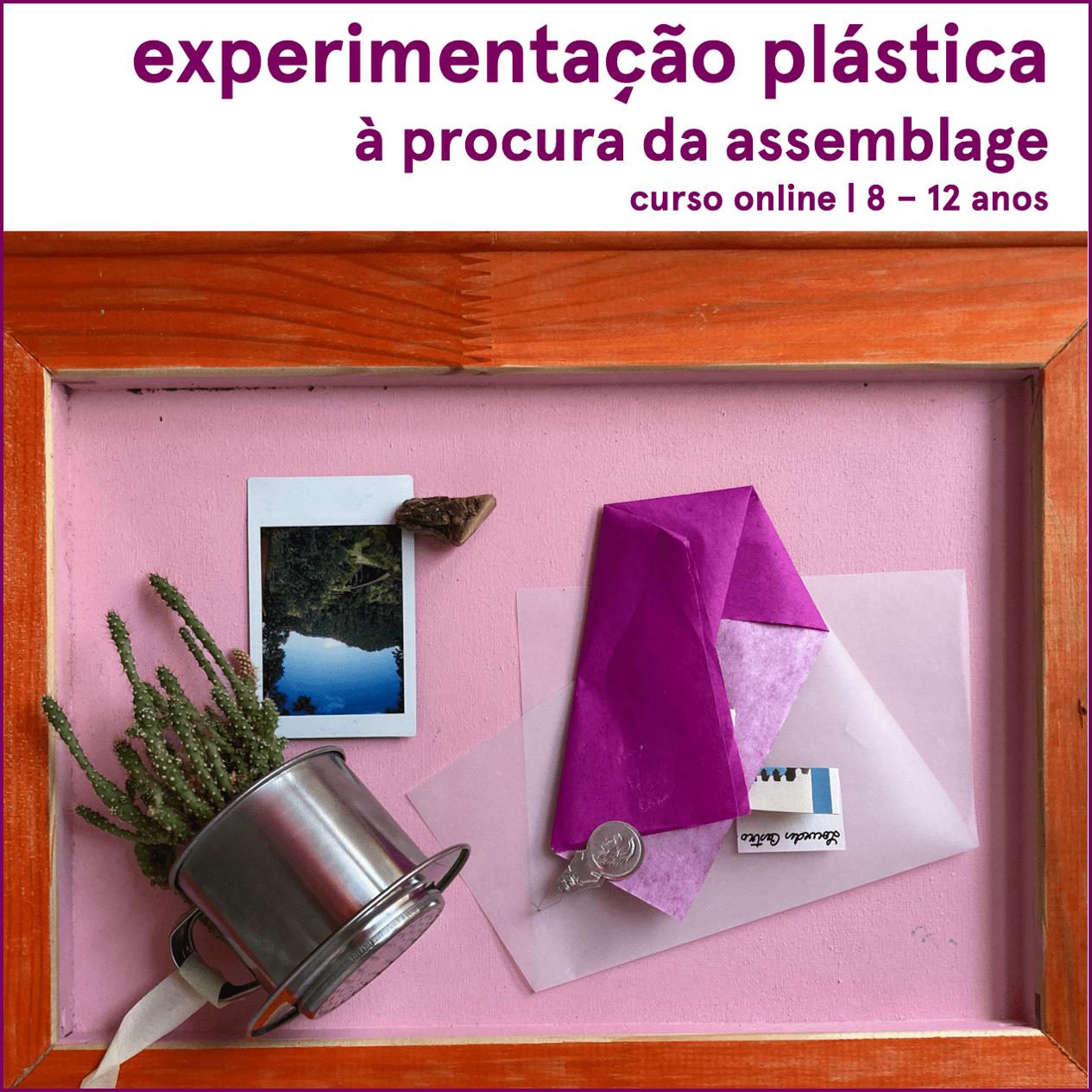 Experimentação plástica: à procura da assemblage