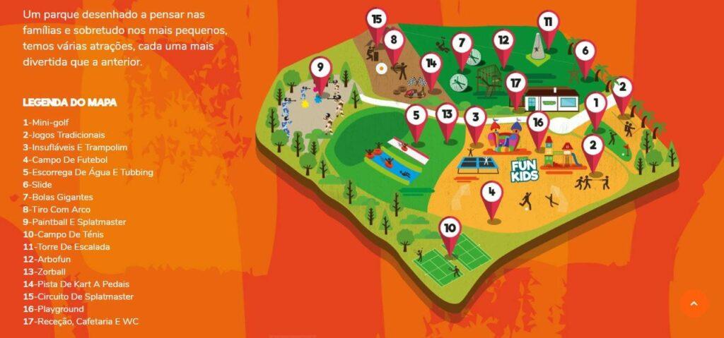 mapa vimeiro clube aventura