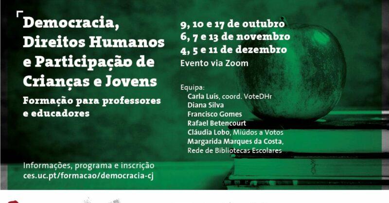Democracia, Direitos Humanos e Participação de Crianças e Jovens