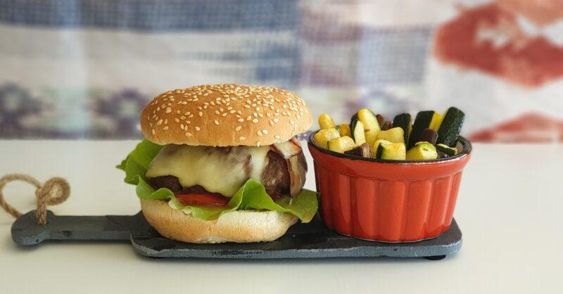 Hambúrguer caseiro receita capa