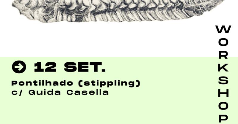 Pontilhado (stippling) – com Guida Casella