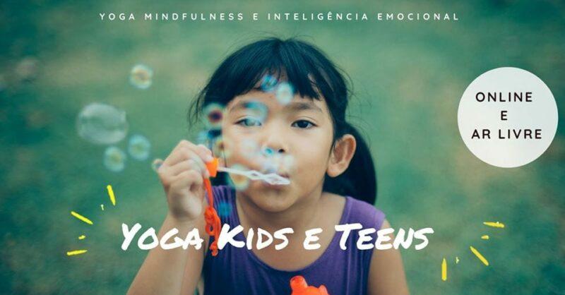 Yoga e Meditação -Mindfulness para Crianças e Adolescentes