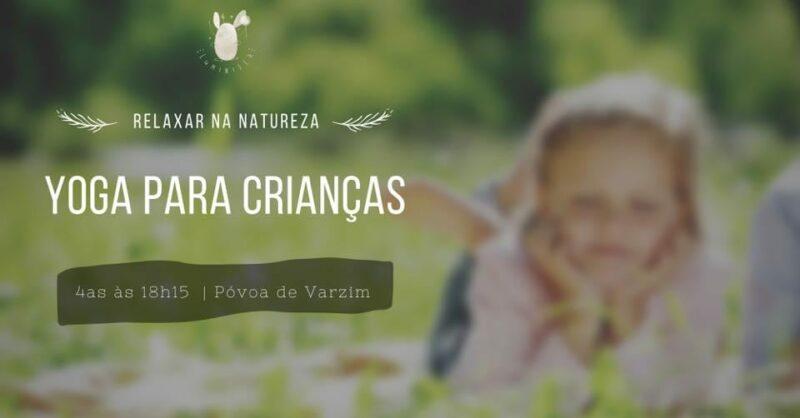 Yoga para crianças | NA NATUREZA