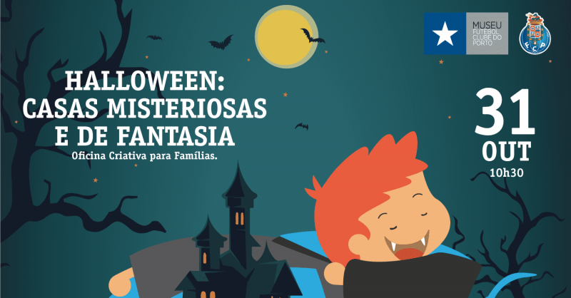 Halloween: Casas Misteriosas e de Fantasia – Oficina Criativa para Famílias